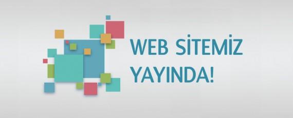 Web Sitemiz Açıldı!